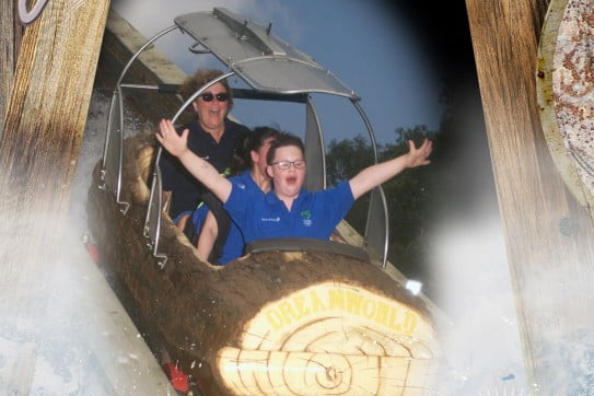 Koru care Otago branch - Dreamworld - log ride