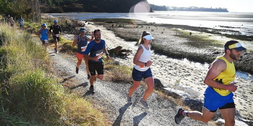 Runners at K2M Event, Nelson, New Zealand