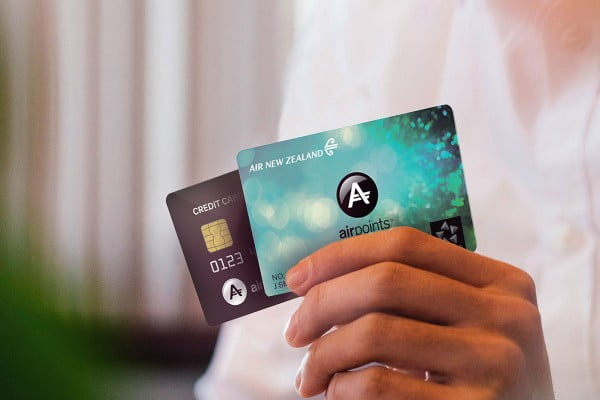Spend once, earn twice Airpoints