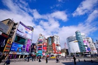 Taiwain Taipei Xi Mending shopping district