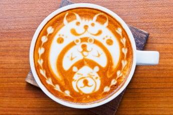 Taiwan latte art
