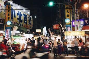 Taipei night markets, Taiwan