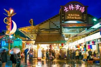 Shilin markets, Taiwan