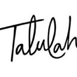 Talulah restaurant logo.