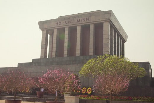 Ho Chi Minh tomb, Vietnam.