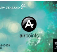 Airpoints card
