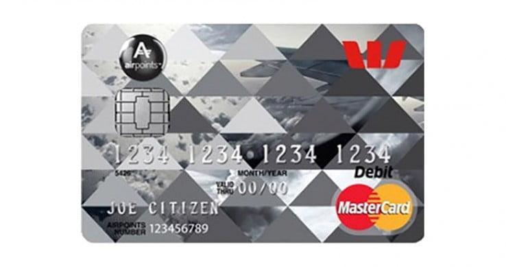 Westpac debit card.
