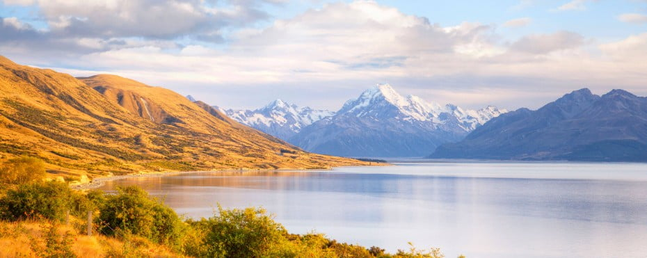 New Zealand - Lake Pukaki, Mount Cook, Otago