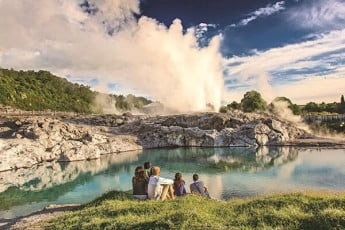 Geothermal Valley, Rotorua, New Zealand