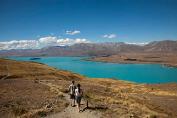 Mt John Walkway, Lake Tekapo, New Zealand