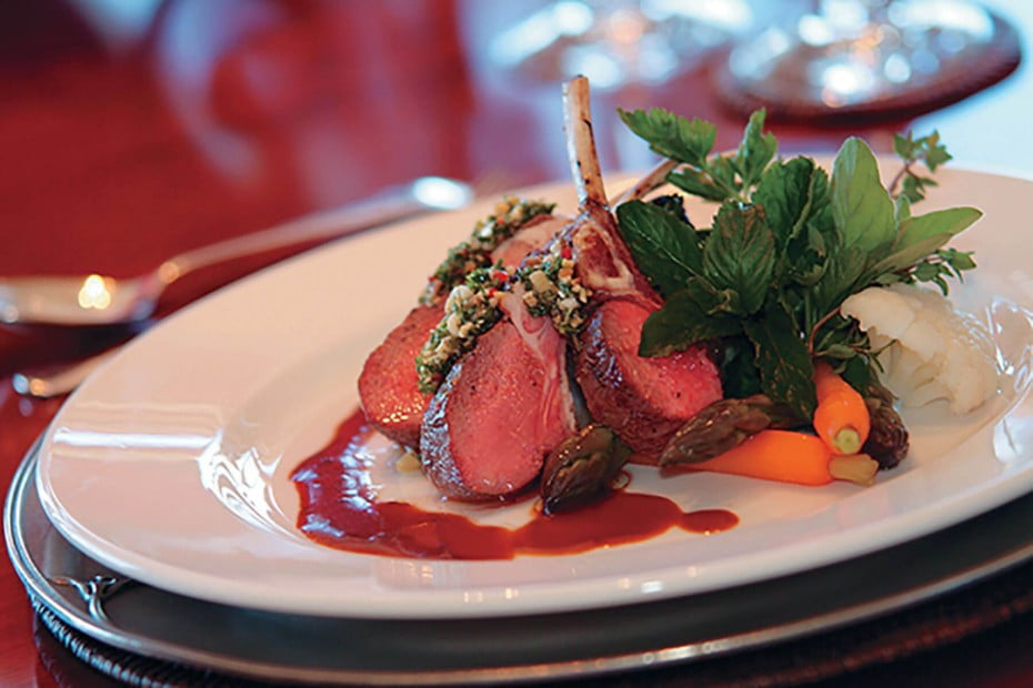 New Zealand - Roast Lamb, Lake Taupo Lodge