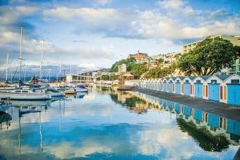 Oriental Bay Boat Sheds, Wellington