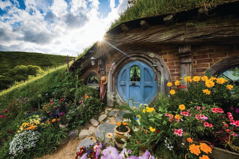 New Zealand - Matamata, Hobbiton Movie Set