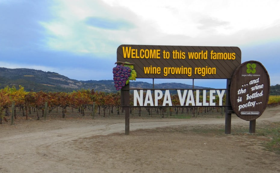 Napa Valley Welcome sign 2199x1362