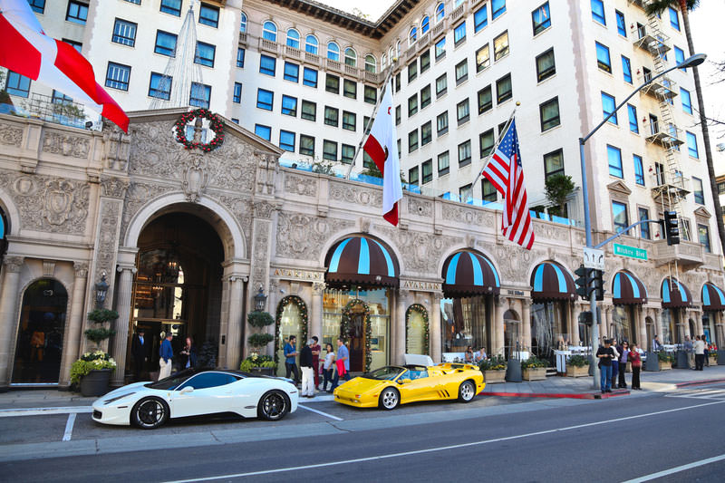 The Beverly Wilshire, Beverly Hills, Los Angeles