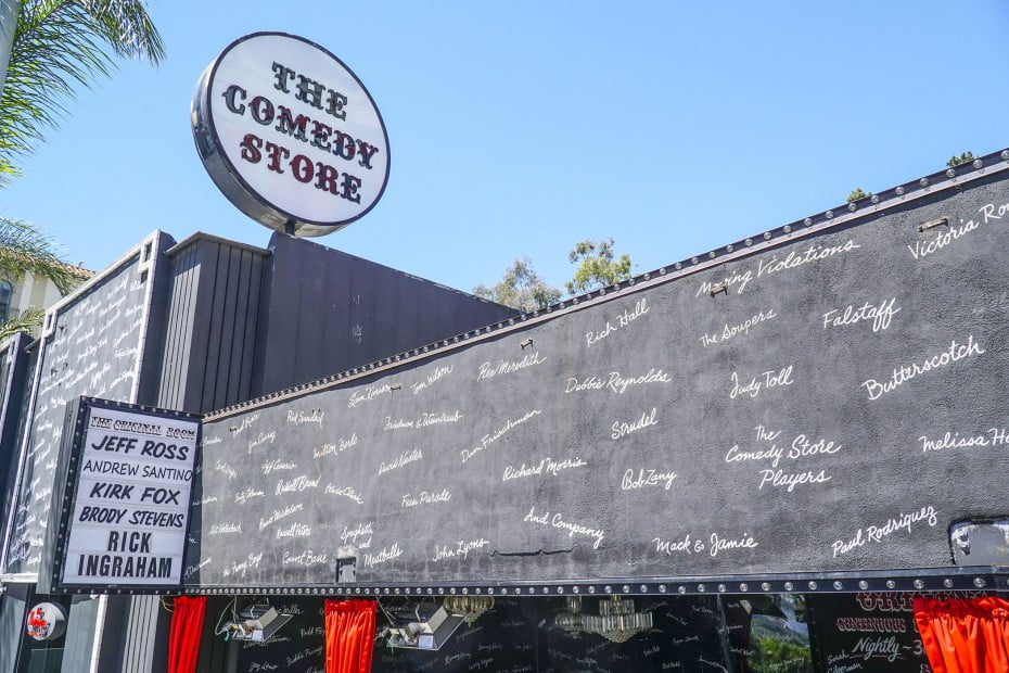 The Comedy Store, West Hollywood, Los Angeles